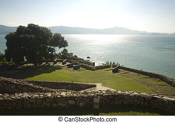 War Fort View - The war fort located in Jurere -...