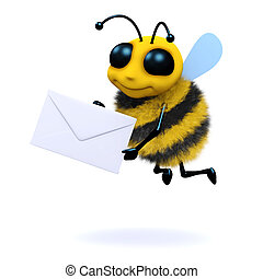 3d Mail bee