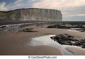 Seven Sisters cliffs.
