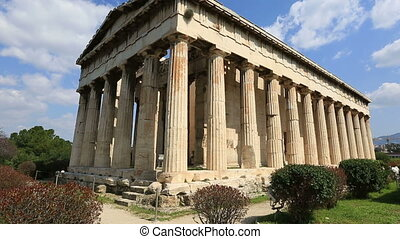 Time Lapse Temple of Hephaestus