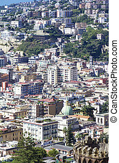 Naples - View of Naples, Italy, close up, texture,...