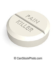 Pill tablet pain killer