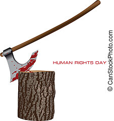 Human Rights Day - Creative on Human Rights Day Vector...