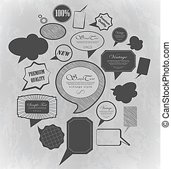 Chalk design - Design elements bubble ?an be used for...