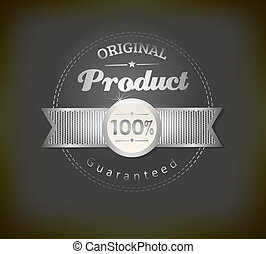 Set of retro ribbons and labels. Vector illustration can be...