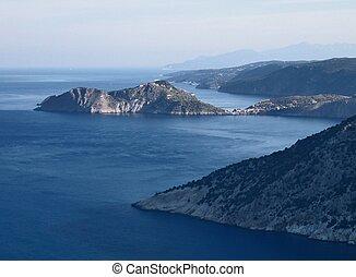 Bay at Kefallonia, Greece