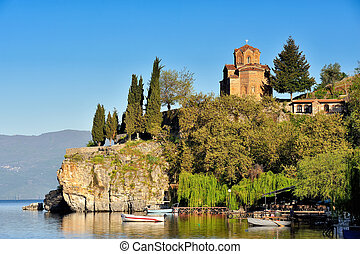 Church of St. John at Kaneo, Ohrid
