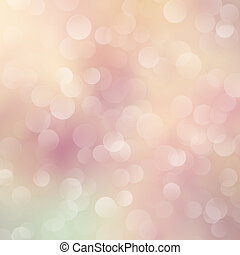 Abstract bokeh lights. Defocused background