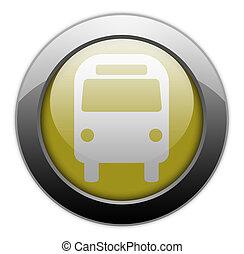 IconButtonPictogram quot;Bus Ground Transportationquot; -...