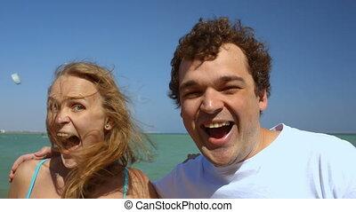 Crazy loving couple