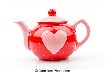 isolated heart kettle