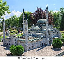 Hagia Sophia in Istanbul, Turkey Klagenfurt. Miniature Park...