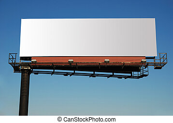billboard - giant billboard with blank space for your own ad...