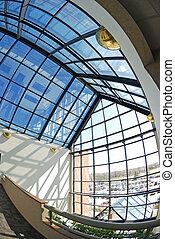 sunroom window - fisheye view of the beautiful sunroom...