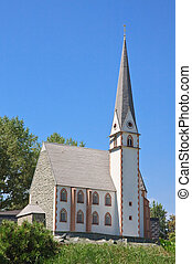 Church of St Vincenz Heiligenblut, Austria Klagenfurt...