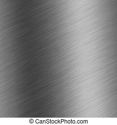brushed aluminum - A brushed metal background texture -...
