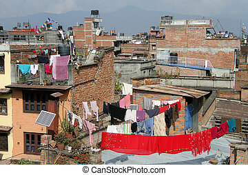Roofs of Patan