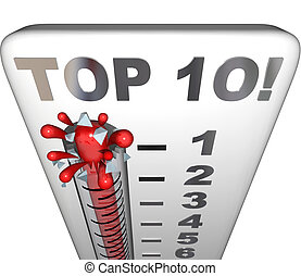Top 10 Thermometer Ten Best Choices Review Award Rating