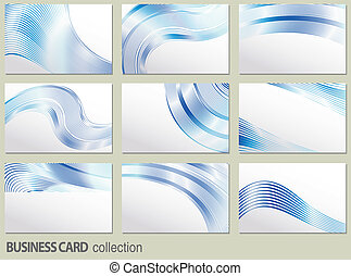 vector business card set, elements for design.