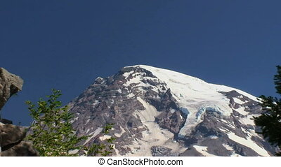 Mount Rainier National Park, Washington, zoom out