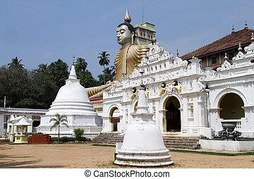 Wewurukannala Vihara - Temple and buddha in Wewurukannala...