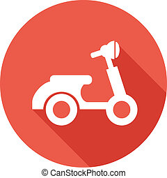 Travel Flat Icon with Shadow Vector Pictogram EPS 10
