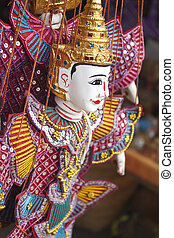 Traditional puppet - Traditional Myanmar puppet