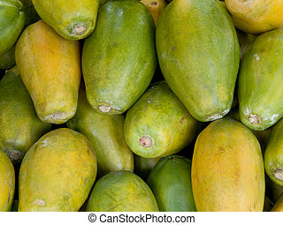 Papayas - Pile of Papayas