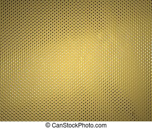 Golden texture in point