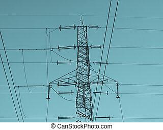 transmisión, línea