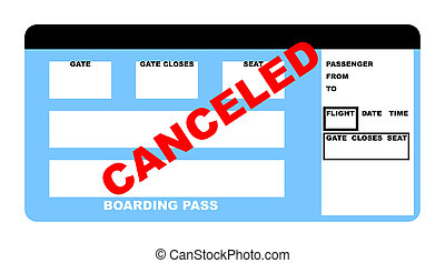 Canceled Airline ticket