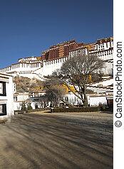 Potala Palace in Lhasa,