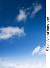 blue sky and beautiful cloud background - It is blue sky and...