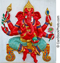 Ganesha - Brahmanism was revered as a goddess of knowledge.