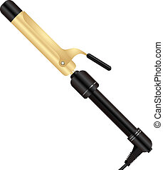 Curling Iron - Electric hair curlers for professional use in...