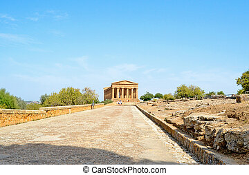 Temple of Concord - Agrigento, Sicily