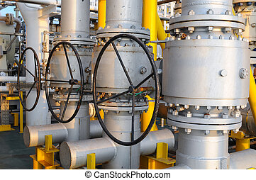 Valves manual in the process Production process used manual...