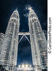 Petronas Towers - Kuala Lumpur, Malaysia. Petronas Towers...