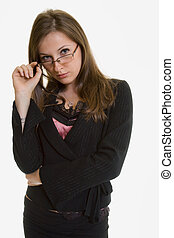 Professional woman - Attractive woman dressed in Business...