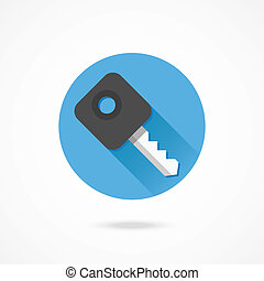 Vector Car Key Icon