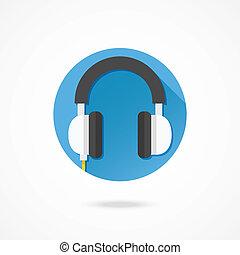 Vector Headphones Icon
