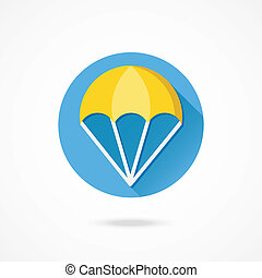 Vector Parachute Icon