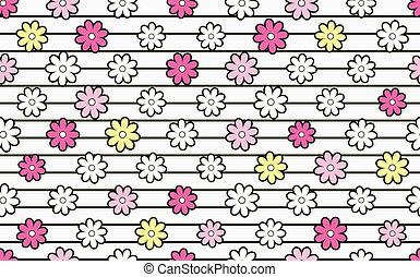 flower material.