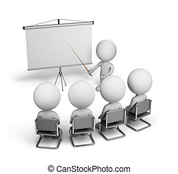 Training employees - Training of employees in the conference...