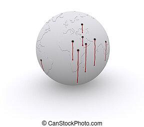 Shooted, mundo