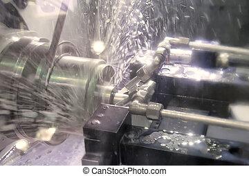Lathe, CNC milling