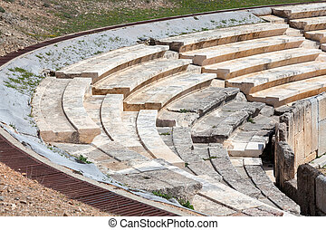 Ancient Greece - Ancient Theater of Maroneia-Greece