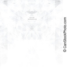 Shiny bright abstract background/ polygonal composition for Infographic/ Template design