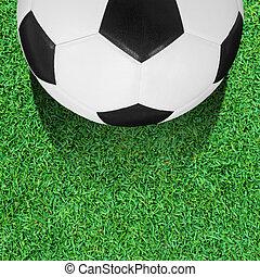 Soccer Ball - soccer ball on the green grass field