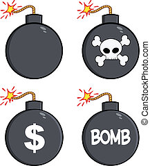 Various Bomb Characters Collection